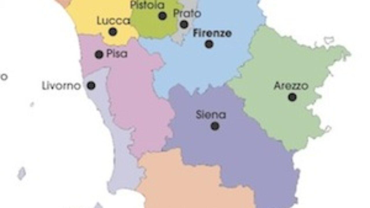 Cartina Politica Toscana.Cartina Politica Toscana Da Stampare Gratis Scuola Primaria