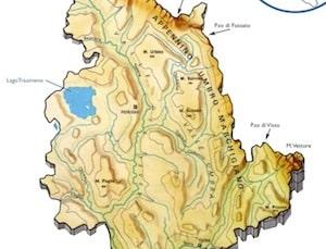 Cartina Stradale Umbria Da Stampare.Cartina Fisica Umbria Da Stampare Scuola Primaria Carta Geografica