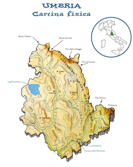 Cartina Dell Umbria Fisica.Cartina Fisica Umbria Da Stampare Scuola Primaria Carta