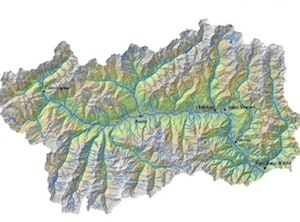 Cartina Geografica Piemonte Valle D Aosta.Cartina Fisica Valle D Aosta Da Stampare Gratis Carta Geografica Scuola Primaria