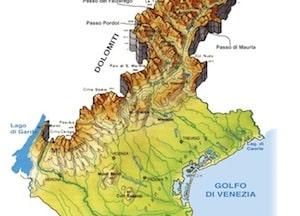 Cartina Fisica Del Veneto Da Stampare.Cartina Fisica Del Veneto Da Stampare Gratis Carta Geografica Per La Scuola Primaria