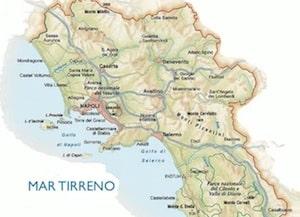 Cartina Stradale Cilento.Cartina Fisica Della Campania Da Stampare Gratis Per La Scuola Primaria
