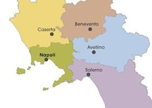 Cartina Geografica Politica Campania.Cartina Politica Della Campania Da Stampare Gratis Per La Scuola Primaria