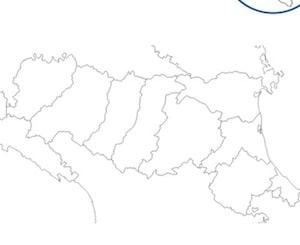 Cartina Dell Italia Solo Contorno.Cartina Geografica Muta Emilia Romagna Da Stampare Scuola Primaria