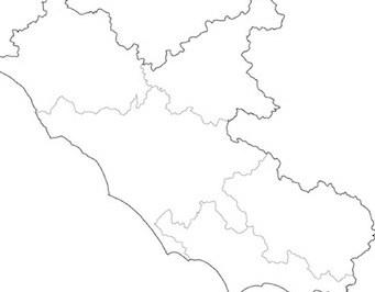 Cartina Lazio.Cartina Muta Del Lazio Da Stampare Gratis Per La Scuola Primaria