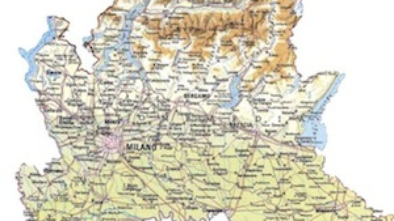 Cartina Muta Lombardia Da Stampare.Cartina Fisica Lombardia Da Stampare Gratis Per La Scuola Primaria