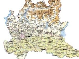 Cartina Muta Lombardia Da Completare.Cartina Fisica Lombardia Da Stampare Gratis Per La Scuola Primaria