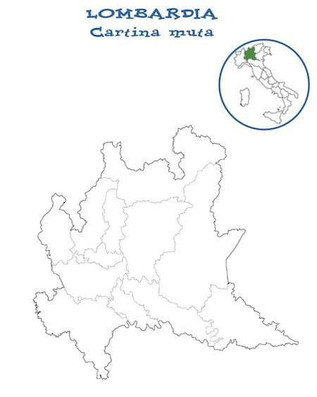 Cartina Muta Lombardia Da Completare.Cartina Muta Lombardia Da Stampare Gratuitamente Per La Scuola Primaria