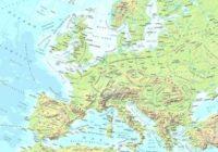 Cartina Europa Fisica Muta.Cartine Dell Europa E Paesi Europei Da Stampare Gratis