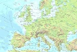 Cartina Geografica Europa Fisica Da Stampare.Cartina Fisica Europa Da Stampare Gratis Scuola Primaria E Media