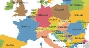 Cartina Europa Fisica Con Fiumi.Cartine Dell Europa E Paesi Europei Da Stampare Gratis Carte Geografiche