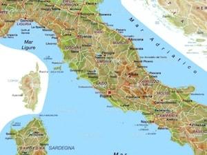 Europa Fisica Cartina Da Stampare.Cartina Fisica Dell Italia Da Stampare Gratis Per La Scuola Primaria