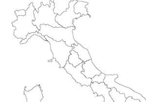 Cartina Italia Muta Con Regioni.Cartina Muta Dell Italia Con Le Regioni Da Stampare Gratis Scuola Primaria