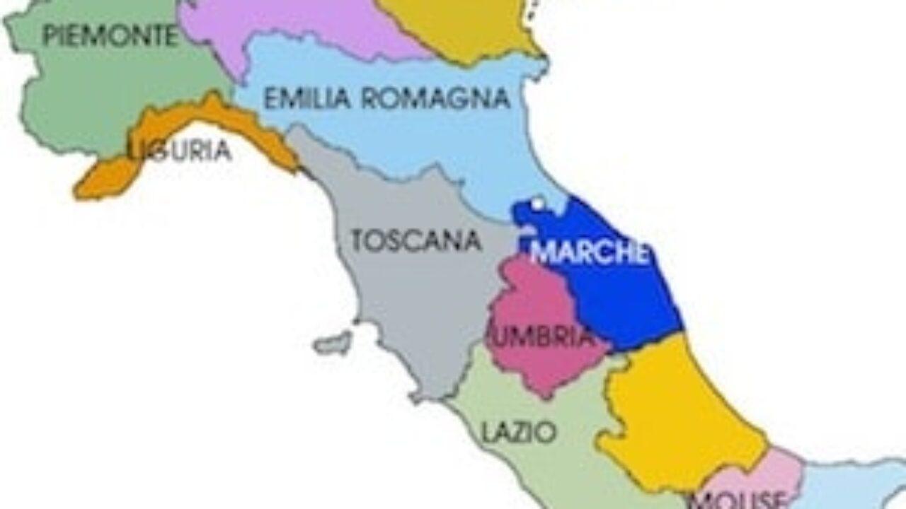 Cartina Italia Bambini.Cartina Politica Dell Italia Da Stampare Gratis Per La Scuola Primaria