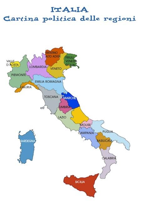 Cartina Geografica Dell Italia Per Bambini.Cartina Fisica Dell Italia Da Colorare