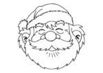 Babbo Natale: disegno da colorare