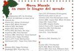 Buon Natale in tutte le lingue!