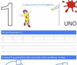 Scrivere i numeri: scheda di pregrafismo