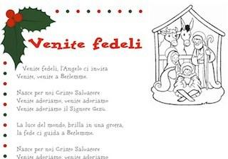 Canzone Auguriamoci Buon Natale.Lascia Che Nevichi Canzone Di Natale Per Bambini Con Testo Da Stampare