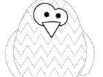 Pregrafismo: il pinguino colorato