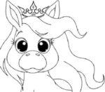 Disegno di Unicorno cucciolo