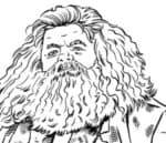 Hagrid da colorare