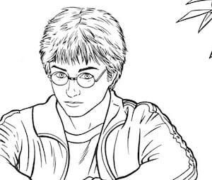 Disegno Del Mago Harry Potter Cose Per Crescere