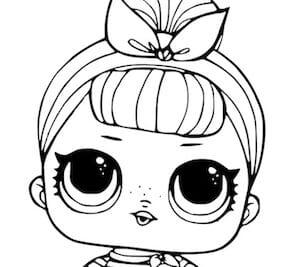 Disegni Della Bambola Lol Sis Swing Da Stampare Gratis E Da Colorare
