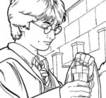 Disegno di Harry Potter da colorare