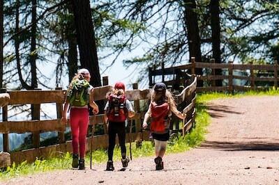 Organizzare gita in montagna con bambini