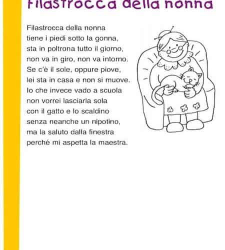 Poesie Di Natale In Rima Baciata.Poesie Per La Nonna Poesie E Filastrocca Per Bambini