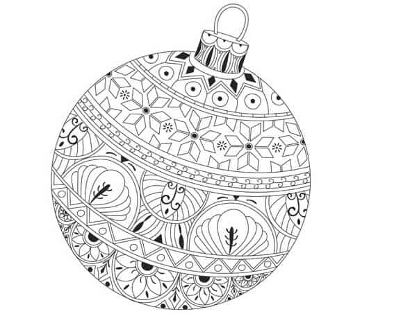 Disegni Da Colorare Gratis Di Natale.Disegni Di Mandala Facili Da Colorare Per Bambini Da Stampare Gratis
