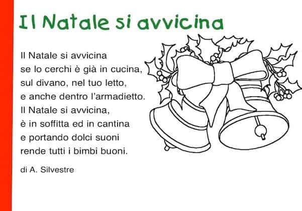 Poesie Di Natale In Inglese Per Bambini.Poesie Di Natale Per Bambini Poesie Per Natale Scuola Primaria