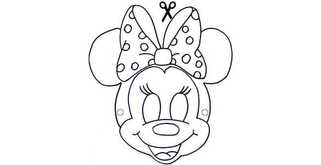 Maschere Da Colorare Per Bambini Da Stampare Gratis Per Carnevale