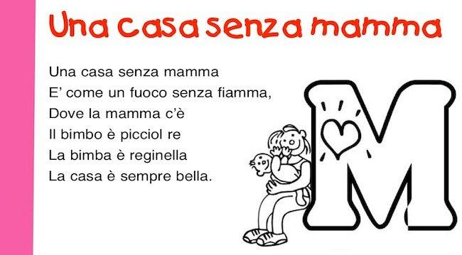 una casa senza mamma: poesia per la mamma