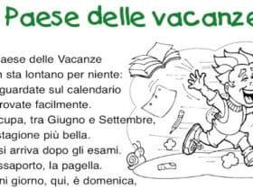Il Paese delle vacanze: poesia per la fine della scuola
