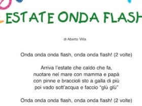 Estate onda flash: canzone sull'estate per bambini
