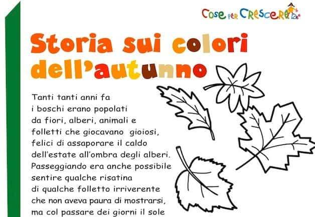 Storia sui colori dell'autunno
