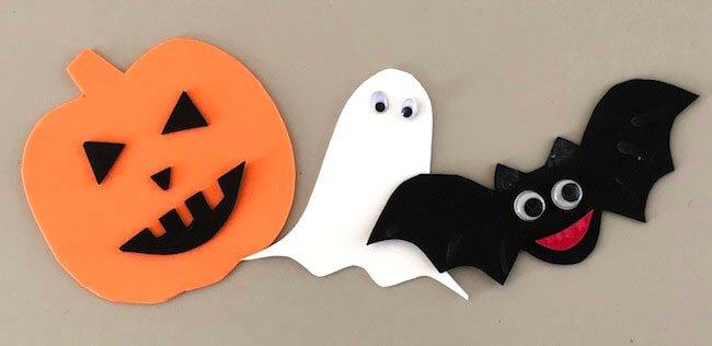 Lavoretto di Halloween semplice