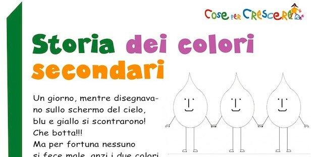 storia dei colori secondari