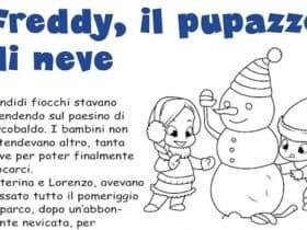 Freddy, il pupazzo di neve: storia sulla neve